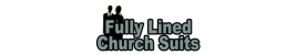 Fullylined Church Suits